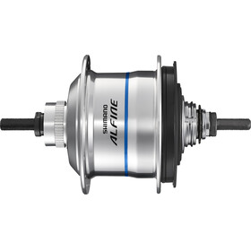 Shimano Alfine Di2 SG-S7051-8 Mozzo 8 marce Disc Center-Lock argento